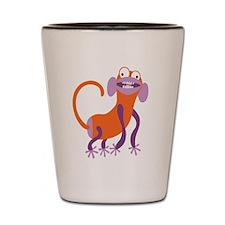 Loony Monkey Shot Glass