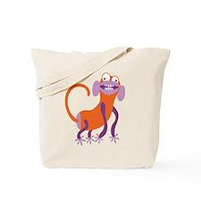 Loony Monkey Tote Bag