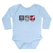 Eat Sleep Dive Long Sleeve Infant Bodysuit