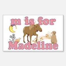 M is for Madeline Decal