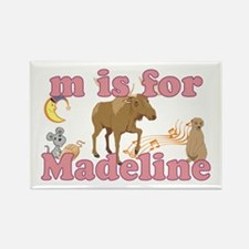 M is for Madeline Rectangle Magnet
