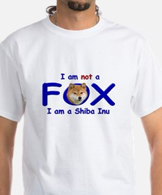 I am not a fox I am a shiba I Shirt