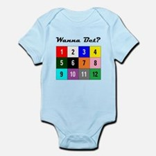 Wanna Bet? Infant Bodysuit