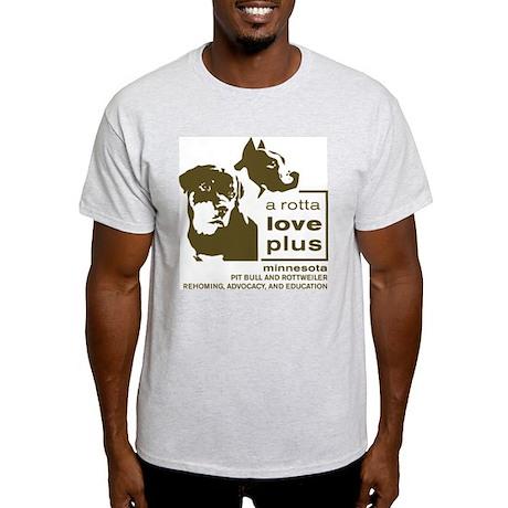 Vertical Logo Clothing Light T-Shirt