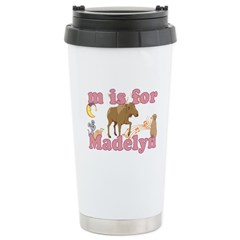 M is for Madelyn Travel Mug