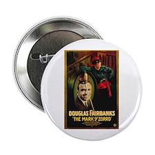 """The Mark Of Zorro 2.25"""" Button"""