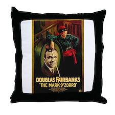 The Mark Of Zorro Throw Pillow