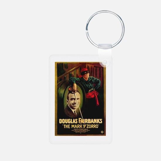 The Mark Of Zorro Keychains