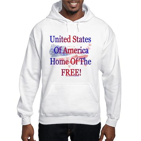 USA Freedom Hooded Sweatshirt