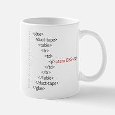 HTML CSS Geek Mug