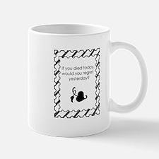 Unique Love with no regrets Mug