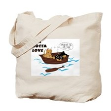 Funny A rotta love plus Tote Bag
