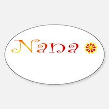 Nana Summer Colors Decal