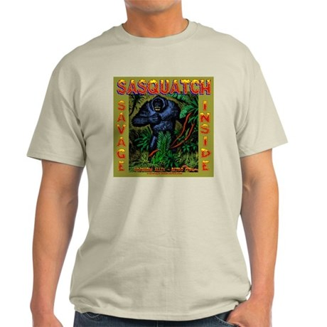 Sasquatch Ash Grey T-Shirt