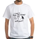 Hockey Mens White T-shirts