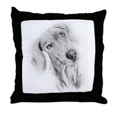 Funny Mocha Throw Pillow
