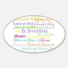 Names of God Decal