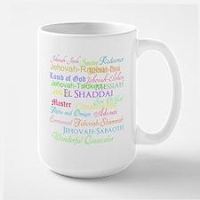 Names of God Large Mug