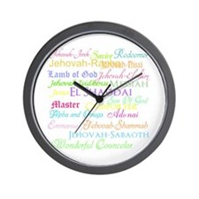 Names of God Wall Clock