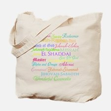 Names of God Tote Bag