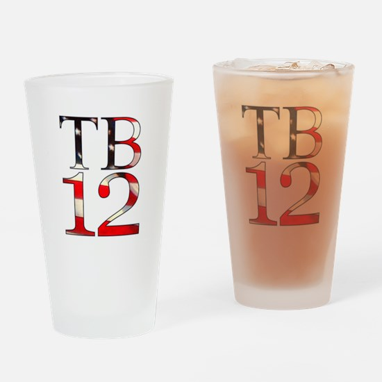 TB 12 Drinking Glass