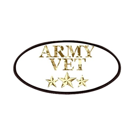 Army Vet 3 Star Camo Patches
