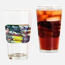 Female Veteran Pride Drinking Glass