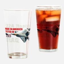 f-22A Raptor Made In America Pint Glass