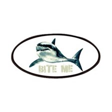 Bite Me Shark Patches