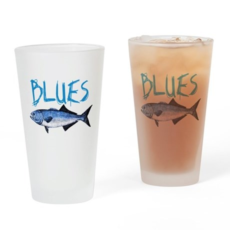 Blues Pint Glass