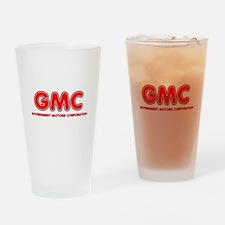 GMC Government Motors Corporation Drinking Glass