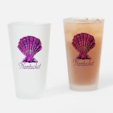 Nantucket Scallop Shell Drinking Glass