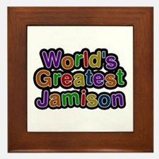 World's Greatest Jamison Framed Tile