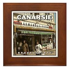 Canarsie Armondo's Framed Tile