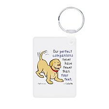 Four Feet (Dog) Keychains