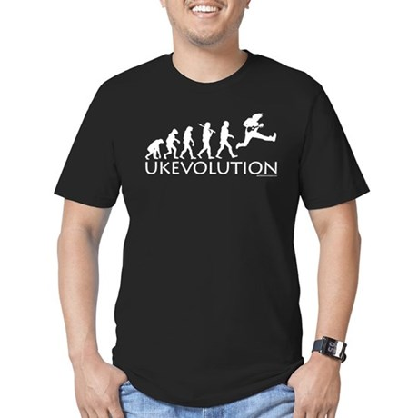 Ukevolution Men's Fitted T-Shirt (dark)