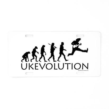 Ukevolution Aluminum License Plate