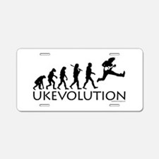 Ukevolution Aluminum License Plate