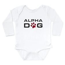 Alpha Dog Onesie Romper Suit