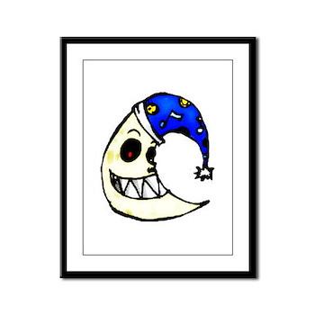 Moonshine Framed Panel Print