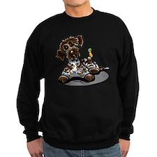 Funny Pointing Griffon Sweatshirt