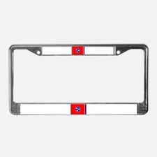 Flag of Tennessee License Plate Frame