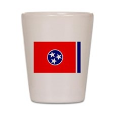 Flag of Tennessee Shot Glass