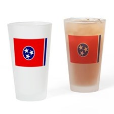 Flag of Tennessee Pint Glass