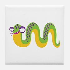 Loony Snake Tile Coaster