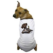 Funny Pointing Griffon Dog T-Shirt