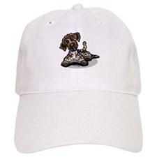 Funny Pointing Griffon Baseball Cap