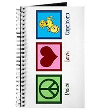Peace Love Capricorn Journal
