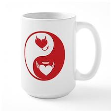 Yin Yang Hearts Mug