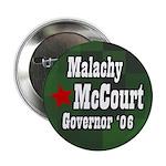 Malachy McCourt for Governor Button